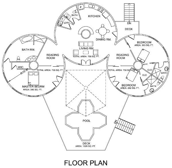 Best 25 unique floor plans ideas on pinterest unique for Unusual floor plans