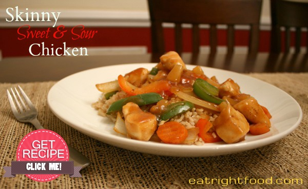 This sweet and sour chicken taste sensational. It's so much healthier than take-out and my family thinks it taste amazingly better!