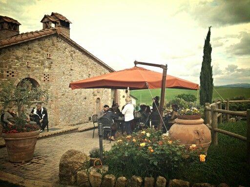 In #giardino gli #ospiti si godono la #merenda