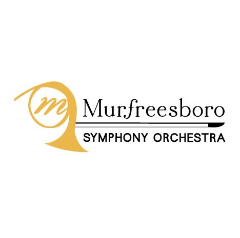 Murfreesboro Symphony Logo created by Titan Web Marketing Solutions. Visit us at titanwms.com.