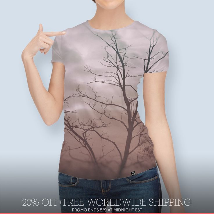 Discover «photo TREES», Numbered Edition Women's All Over T-Shirt by Justyna Jaszke - From $39 - Curioos