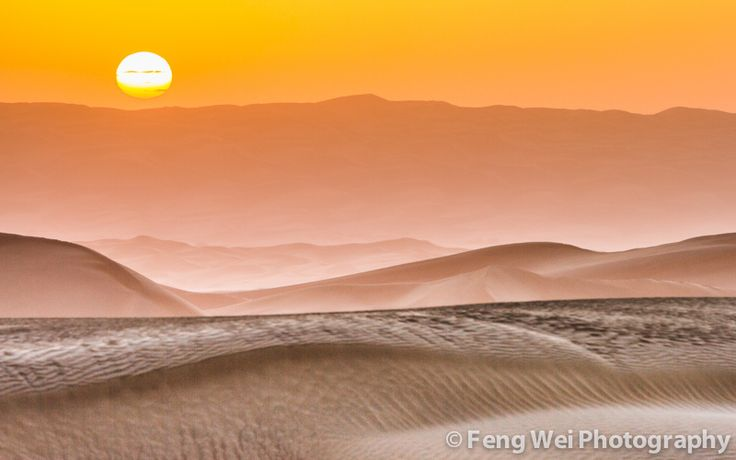 https://flic.kr/p/dtSttK | Desert Sunrise | 新疆-塔克拉玛干沙漠-大漠日出  Sunrise over the horizon in Taklamakan desert, at southern Xinjiang province of China.  © All rights reserved. You may not use this photo in website, blog or any other media without my explicit permission.