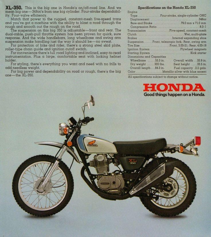 1974-HONDA-XL350-XL-350-SPECS-AD-VINTAGE.jpg (1428×1600)