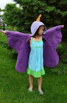 Diy ailes de papillon... Qui fera aussi un gilet long l'été (parce que ça  ne…