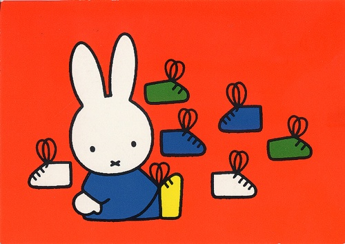 Miffymet ses chaussures