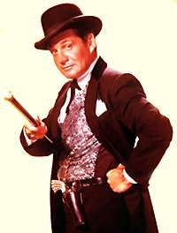 Bat Masterson - They Called Him Bat....Bat Masterson.  Gene Barry taught me to swim in Alcapulco when I was 12.