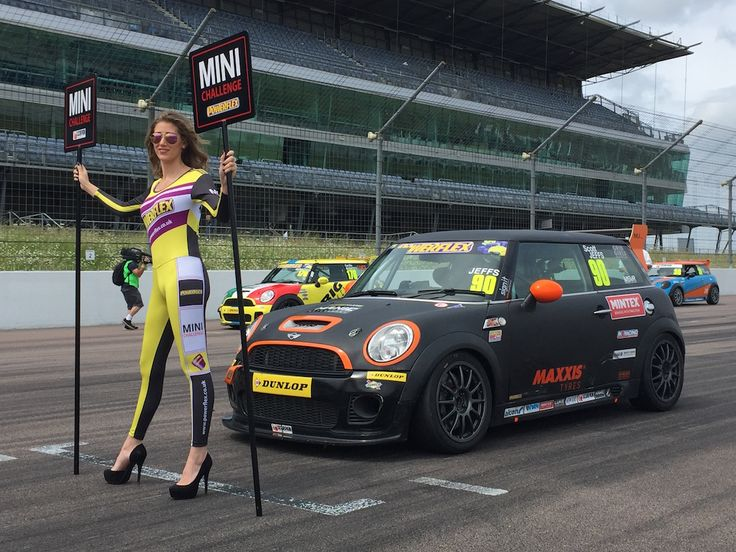 Mini Challenge 2016 - Rockingham - 19th June - http://grid-girls.co.uk/mini-challenge-2016-rockingham-19th-june/