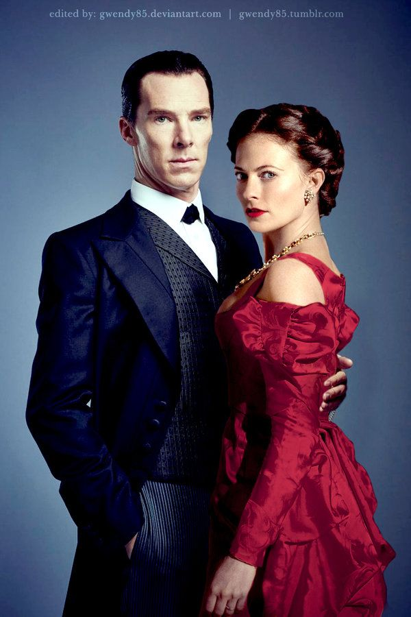 Sherlock and Irene - The Abominable Bride by gwendy85.deviantart.com on @DeviantArt