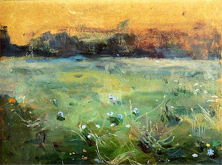bofransson:    Kwiaty na łące 1901 - Jan Stanisławski