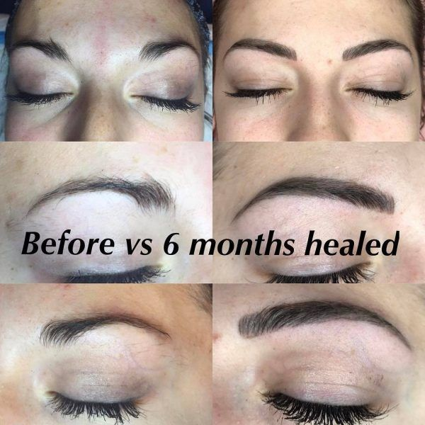 11 best microblading before and after images on pinterest for Eyebrow tattoo aftercare instructions