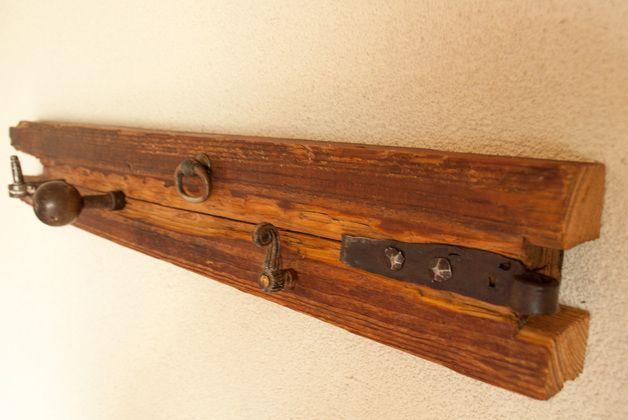 Garderoben - Aufhänger zum abhängen Recycling Möbel Gaderobe 04 - ein Designerstück von MichaMoebel bei DaWanda