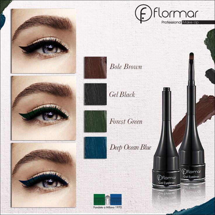 GEL EYELINER www.flormar.com