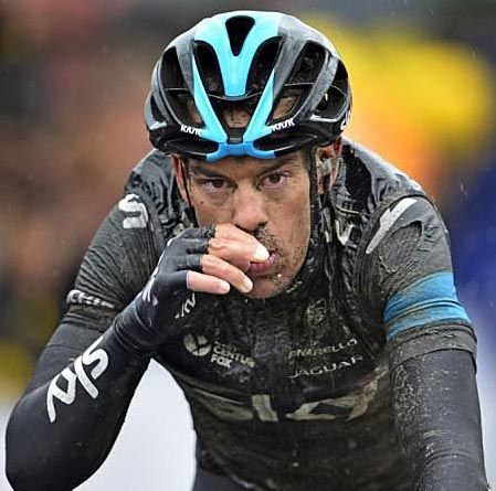 TdF 2014 - 5 : Richie Porte (Australia / Sky) is now his team's GC man after Froome's abandon - Photo credit © Bettini Photo