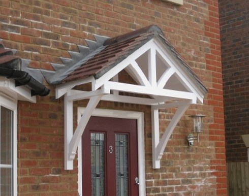 Quality timber door canopy manufacturerwe supply door canopy kitstraditional cottage canopies u0026 flat roofed canopies & 17 best Door Canopy images on Pinterest | Entrance doors Front ...