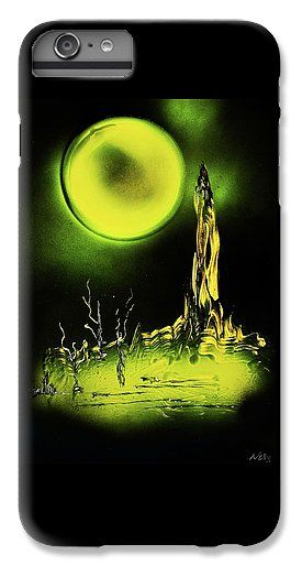 Land Of Rituals IPhone 7 Plus Case Printed with Fine Art spray painting image Land Of Rituals by Nandor Molnar (When you visit the Shop, change the orientation, background color and image size as you wish)