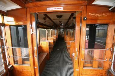 50[s and 60's - Amsterdamse blauwe (blue) tram and its interior. I remember well...