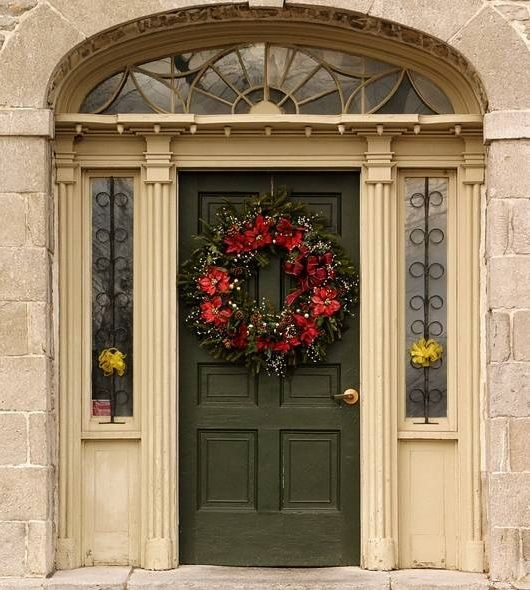 132 Best Front Door/Porch Christmas Decor Images On Pinterest | Christmas  Time, Holiday Ideas And Christmas Ideas