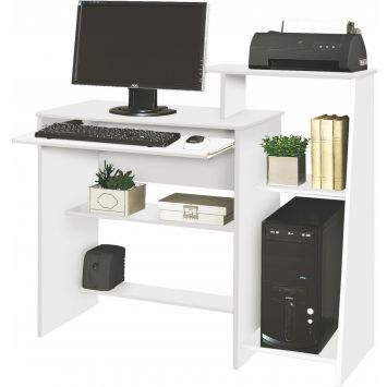 Compre Mesa Computador AustráliaBrancoMóveis e pague em até 12x sem juros. Na Mobly a sua compra é rápida e segura. Confira!