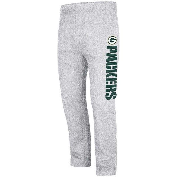 Big & Tall Green Bay Packers Fleece Sweatpants ($38) ❤ liked on Polyvore featuring men's fashion, men's clothing, men's activewear, men's activewear pants, grey other, mens grey sweatpants, big and tall mens sweatpants, mens sweat pants, mens activewear and mens activewear pants