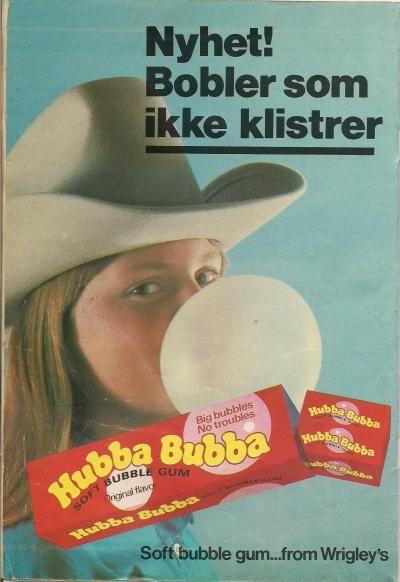 fineminner: Jeg blåser i gummi