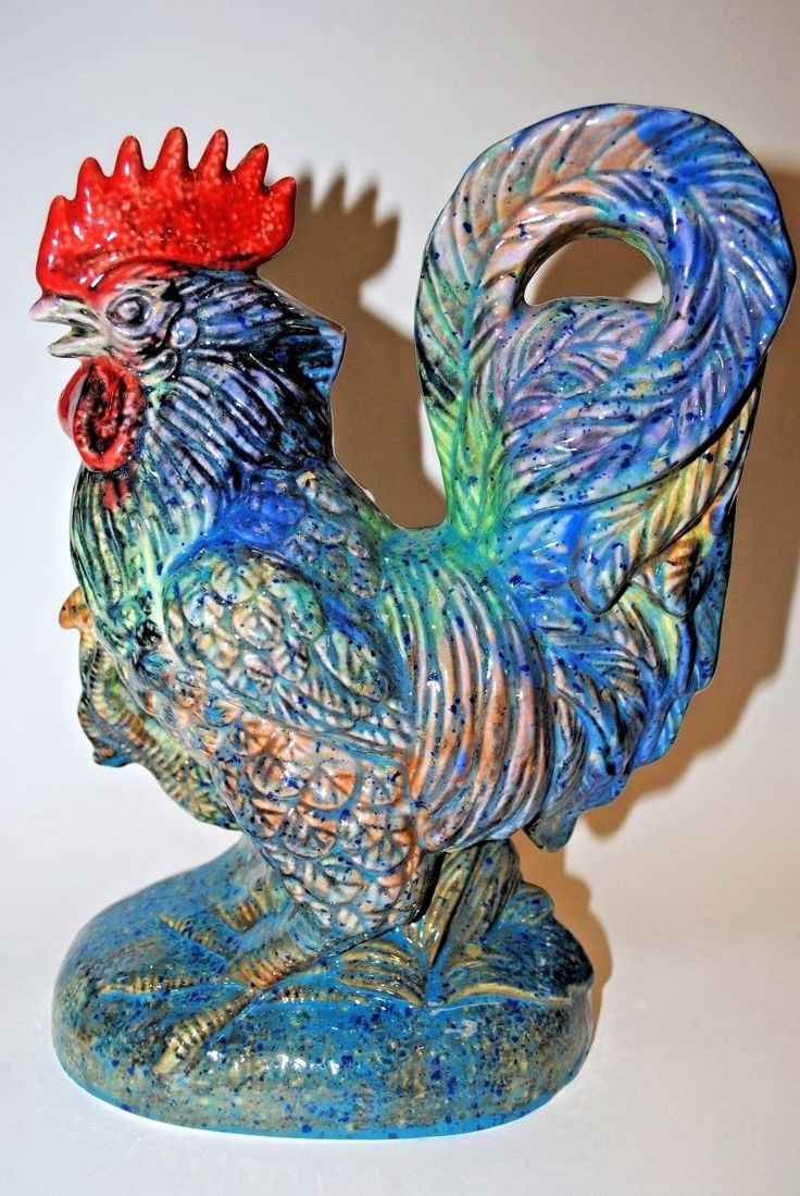Rooster Decor In Living Room: Best 25+ Ceramic Rooster Ideas On Pinterest