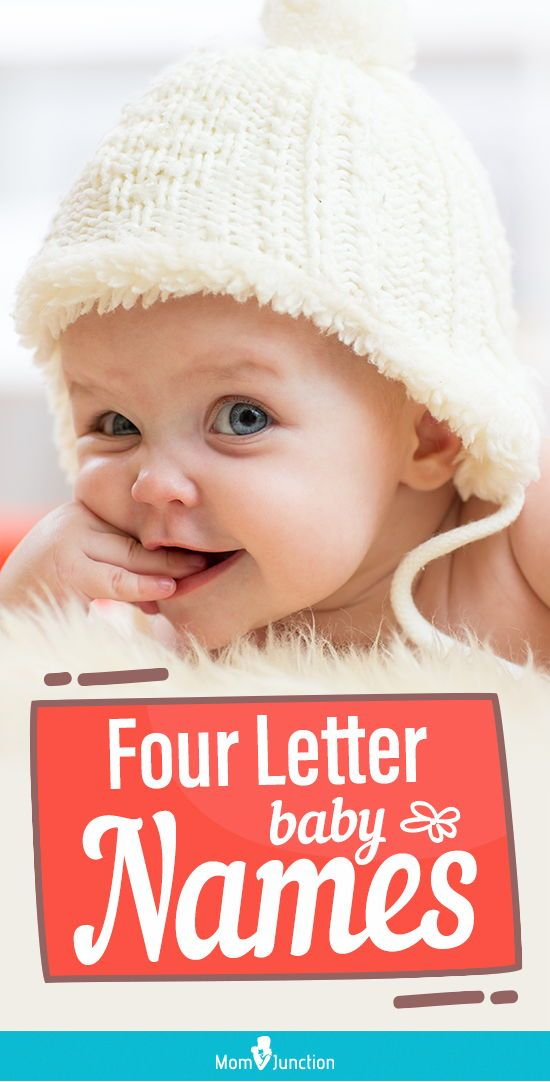 Most Beautiful 4-Letter Baby Names For Boys And Girls | Baby Names