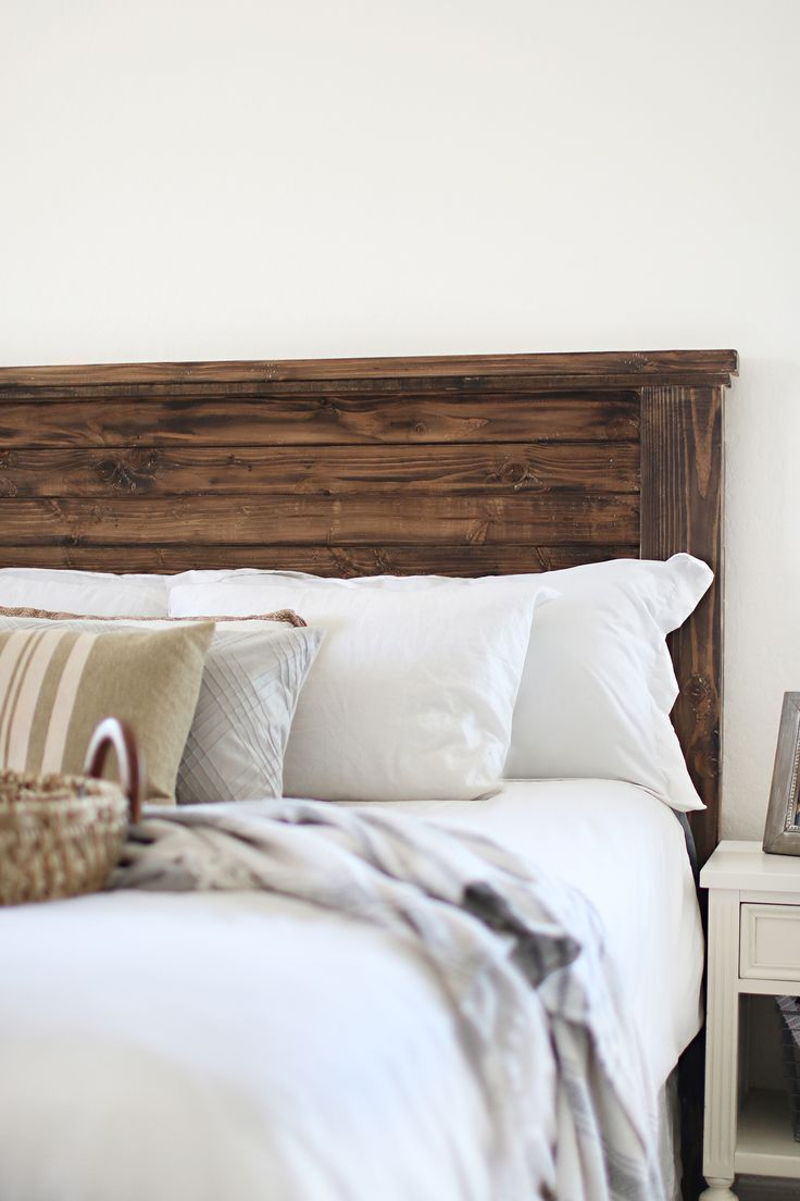 Diy Farmhouse Headboard Haus Of Layne Diy Farmhouse Headboard Including Plans And Supply List Fo In 2020 Farmhouse Headboard Headboards For Beds Diy Bed Headboard