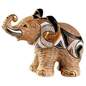 Rinconada F121A African Elephant, Family Collection Figurine