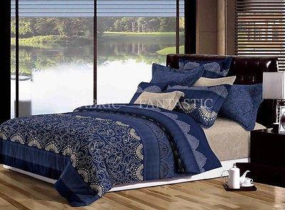 ASCOTT Queen Size Bed Duvet/Doona/Quilt Cover Set New