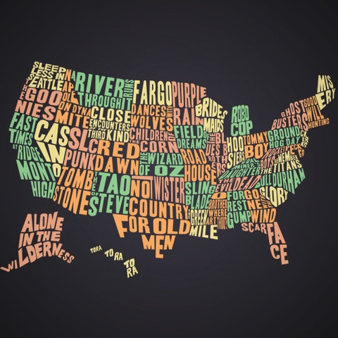 An awesome tee: United States of Film | theCHIVERY
