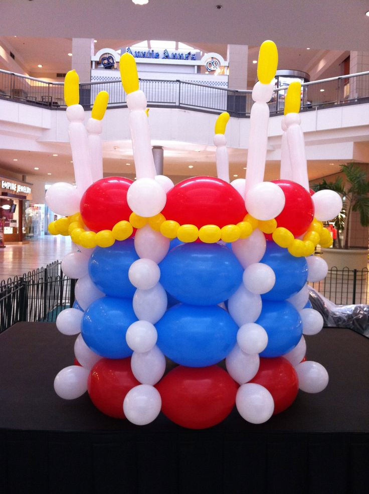 balloon decorating - Giant Balloon Birthday Cake1936 x 2592 | 1.7 KB | www.balloonamations.com