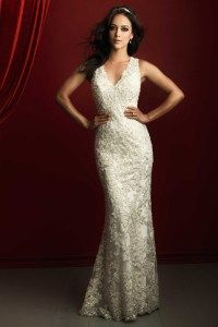 C366 Allure Couture Wedding dress