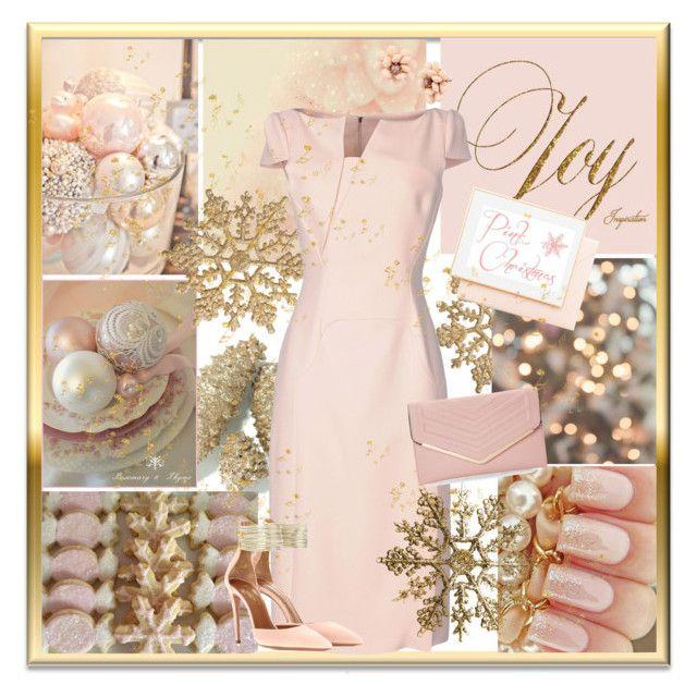 Merry Pink Christmas by sheri-gifford-pauline on Polyvore featuring polyvore, fashion, style, Antonio Berardi, Aquazzura, Sasha, Betsey Johnson, Joie, clothing, Christmas, Pink and pinkchristmas