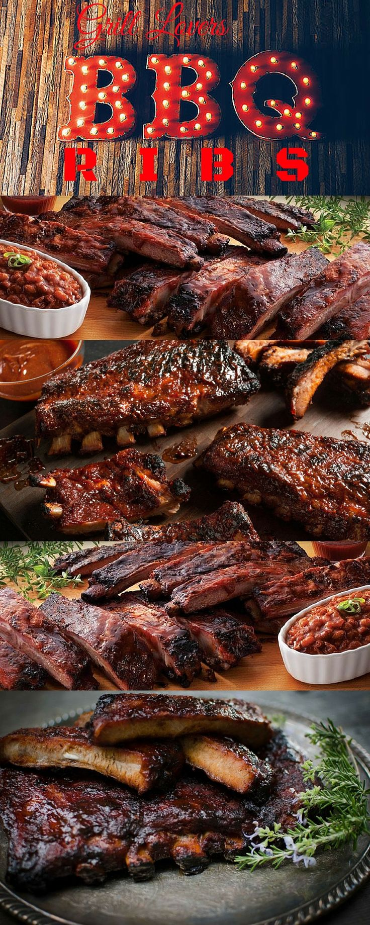 PrintGrill Lovers BBQ Ribs Recipe Ingredients• St. Louis Style ribs • olive oil • minced garlic • seasoned salt • pepper • barbecue sauce • aluminum foil pan InstructionsCut your slabs of ribs in half (Rib Racks are the secret to great ribs! They make grilling your ribs a breeze! Not only does a rack[...]