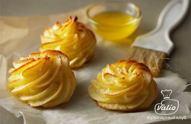 """Картофель """"Герцогиня"""" - пошаговый рецепт приготовления с фото"""