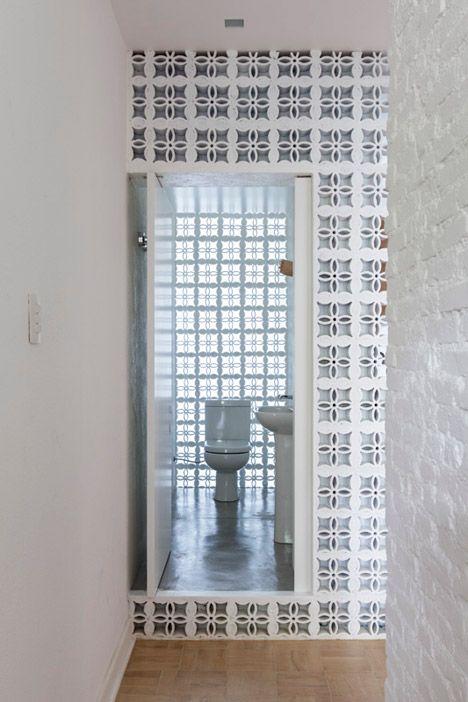 Home Design Traditional Ceramic Blocks Feature In Alan Chuu0027s São Paulo  Apartment Renovation