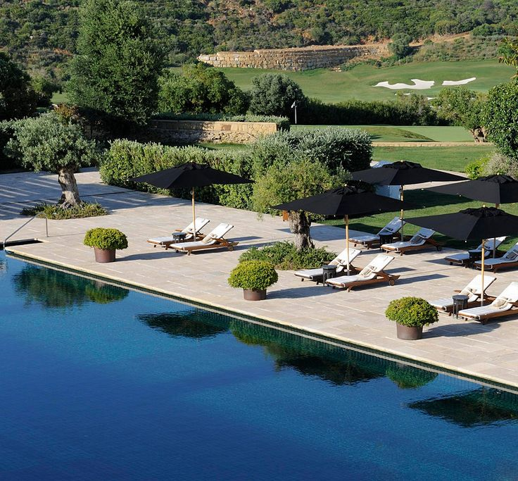 Finca Cortesin in Andalucia, Spain: a palatial spa and golf hotel with superb cuisine.