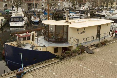 Strandgade 100, 1403 København K - Unik husbåd i Christianshavnskanal #husbåd #christianshavn #christianhavnskanal #kbhk