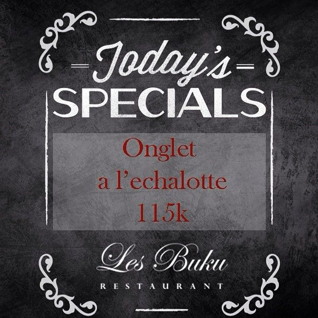 special today...