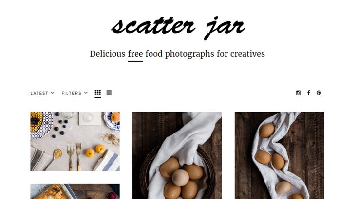 Scatter Jar is a new free stock photography website focused on providing food and drinks photos.All photographs published on the Scatter Jar website are available, free of charge, for both personal and commercial use.
