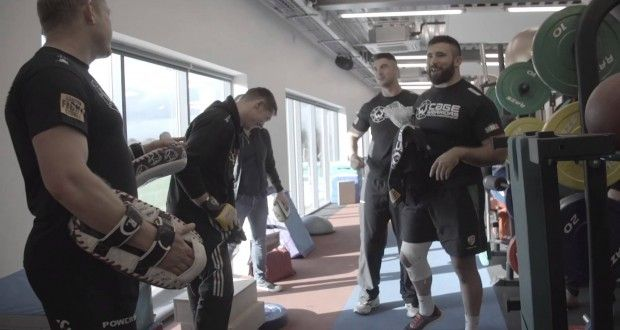 Video: CWFC Lightweight Joseph Duffy at London Irish RFC | TalkingBrawlsMMA.com