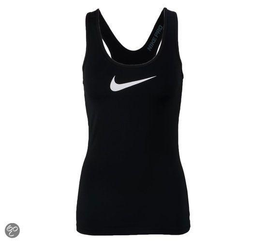 Nike Pro Tank  - Sporttop - Vrouwen - Maat L - Zwart