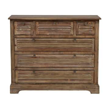 Shutter Natural Pine Chest | Kirklands