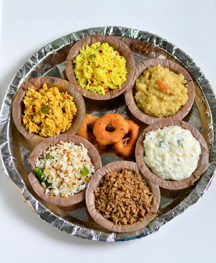 Yummy Southindian rice varieties for lunch with Urad dal vada for Tamil festival Aadi perukku/Aadi 18 !
