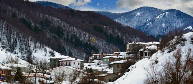 Χριστούγεννα στο χωριό: 5 προορισμοί με άρωμα Ελλάδας!