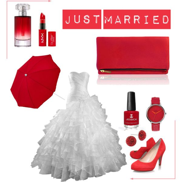 """""""Just Married"""" by blan-xoxo on Polyvore"""