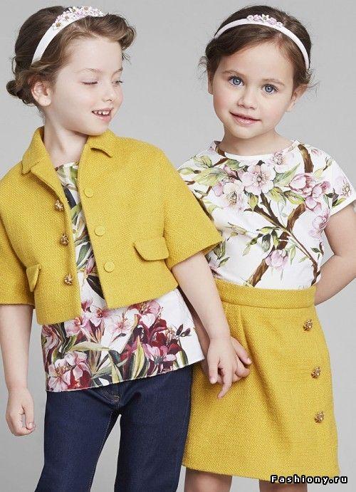 Лучшие луки новых детских коллекций / смотреть детскую моду