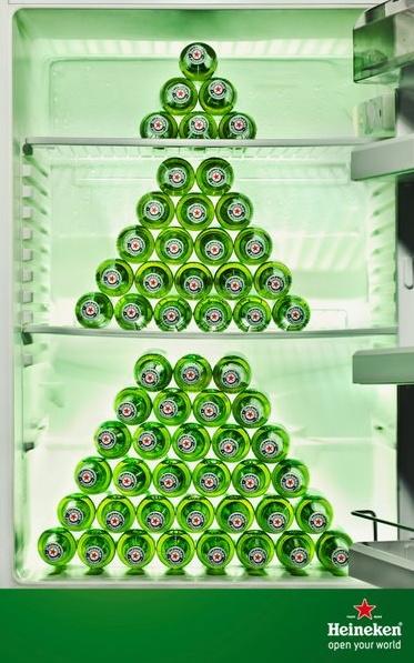 Heineken haakt in op kerstmis  www.inmore.nl