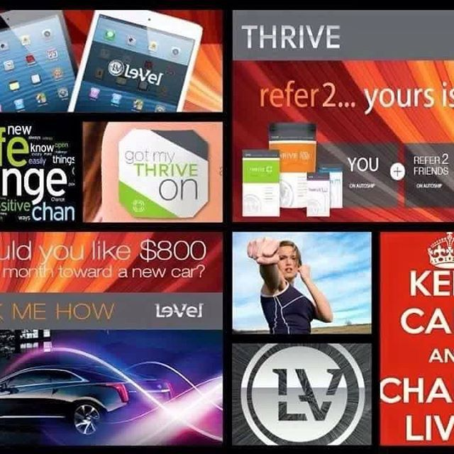 ⭐️Do you sometimes wake up tired. Well look no further! I am here to share the thrive experience with you. This will definitely changed your life. Sign up for a free account today at the link below 👍🏾  https://mrrickjohnson.le-vel.com