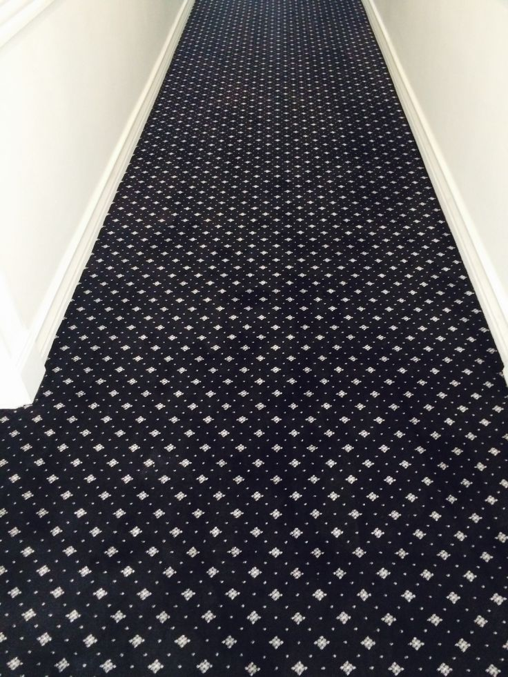 Commercial Installations: Hotel hallway carpeting 2